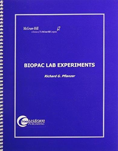 9780072326529: Lsc Cpst (Lander University): Lsc Cpsy (Lander University) Biopac Lab Experiments