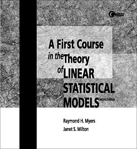 9780072327083: Linear Statistical Models