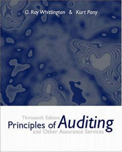 9780072327267: Principles of Auditing and Other Assurance Services