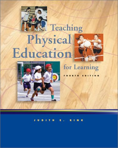 9780072329100: Teaching Physical Education for Learning