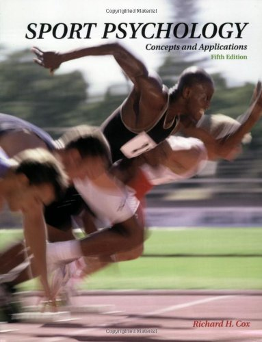 9780072329148: Sport Psychology: Concepts and Applications