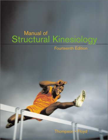 9780072329179: Manual of Structural Kinesiology