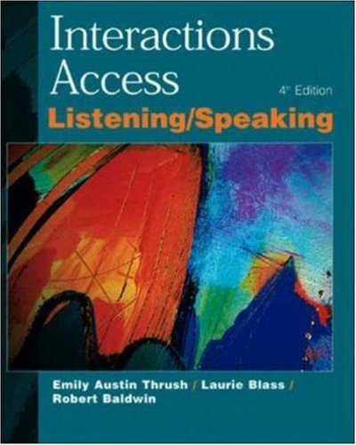 9780072329766: Interactions Access L/S SB: Listening and Speaking: Student Book