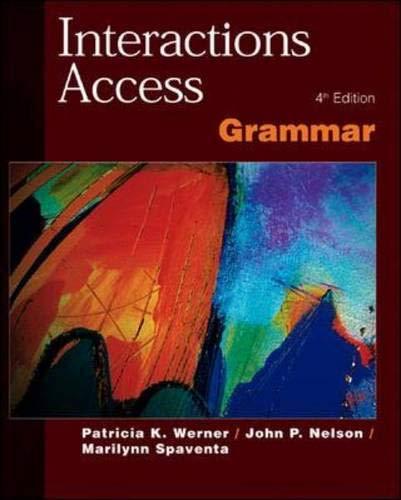9780072329827: Interactions Access Grammar Sb