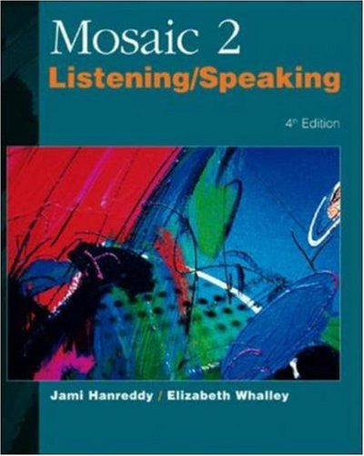 9780072329865: Mosaic 2: Listening/Speaking