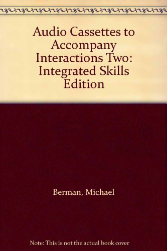 9780072330526: Interactions Integrated Skills - Interactions 2 (High Intermediate) - Audiocassettes (3) (Interactions :Integrated Skills Program)