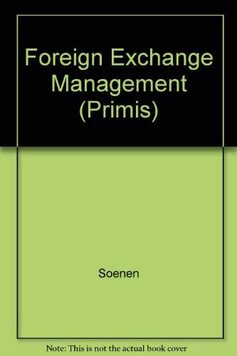 9780072330762: Foreign Exchange Managment: A Managerial Approach