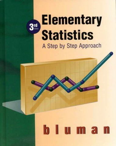 9780072332186: Elementary Statistics: A Step by Step Approach