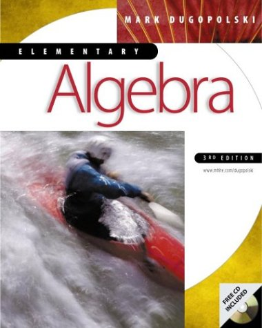 9780072332315: Elementary Algebra with Student CD-Rom Windows mandatory package