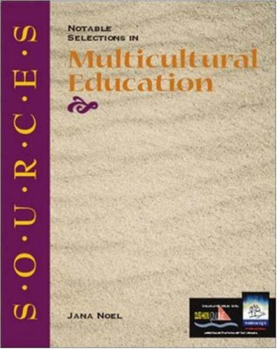 9780072333305: Sources: Notable Selections in Multicultural Education