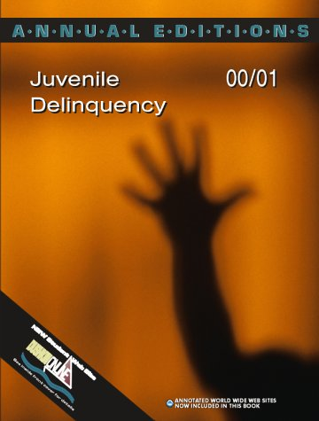 9780072333718: Annual Editions: Juvenile Delinquency 00/01