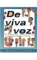 9780072333824: de Viva Voz!: Intermediate Conversation and Grammar Review