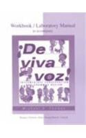 9780072333831: Workbook/Lab Manual to accompany De viva voz
