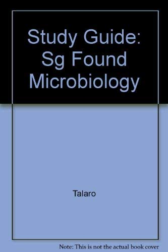 9780072334012: Foundations in Microbiology, Study Guide