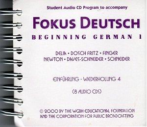 9780072334296: Beginning German 1 (Fokus Deutsch)