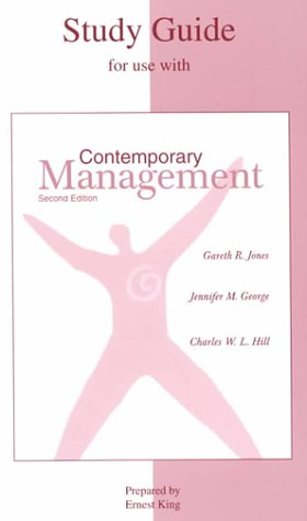 9780072334562: Student Study Guide to accompany Contemporary Management