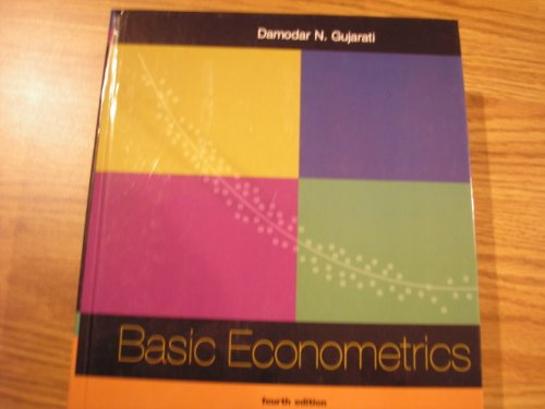gujarati basic econometrics 4th edition data sets