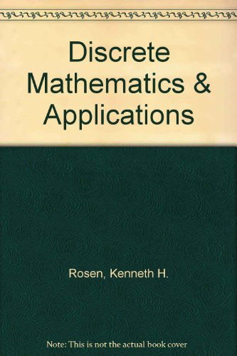 9780072336108: Discrete Mathematics & Applications