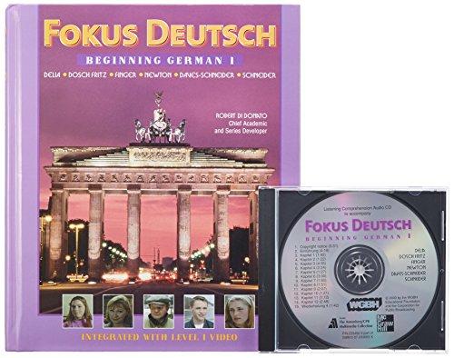 9780072336658: Fokus Deutsch: Beginning German 1 (Student Edition + Listening Comprehension Audio CD)