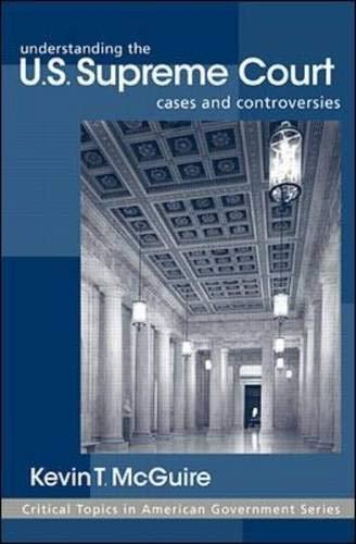 9780072337310: Understanding the U.S. Supreme Court