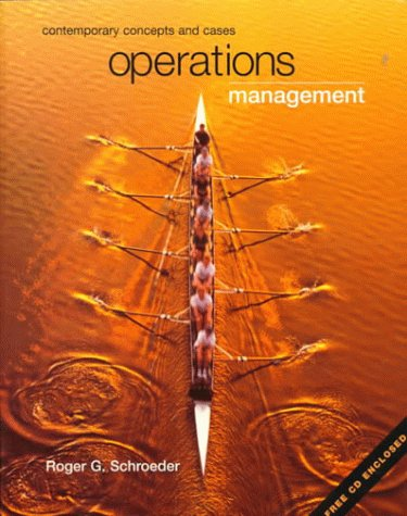 9780072337655: Operations Management: Contemporary Concepts and Cases