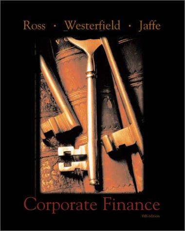 9780072338799: Corporate Finance