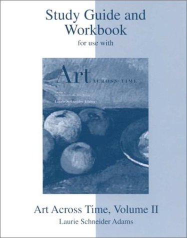 9780072338874: Study Guide, vol 2 for use with Art across Time, Vol 2
