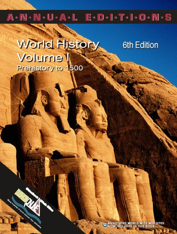 9780072339482: Annual Editions: World History, Volume 1