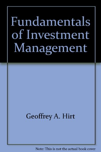 9780072339635: Fundamentals of Investment Management (McGraw-Hill/Irwin Series in Finance, Insurance, and Real Est)