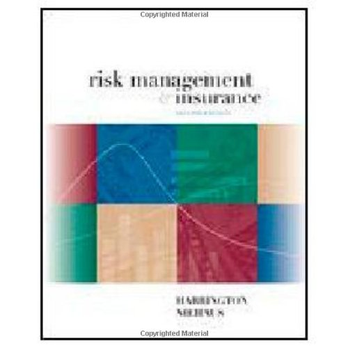 9780072339703: Risk Management and Insurance (McGraw-Hill/Irwin Series in Finance, Insurance, and Real Estate)