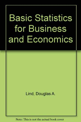 9780072339840: Basic Statistics for Business and Economics