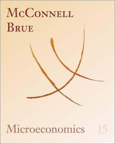 9780072340372: Microeconomics: Principles, Problems, and Policies