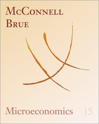 9780072340372: Microeconomics: Principles, Problems, and Policies