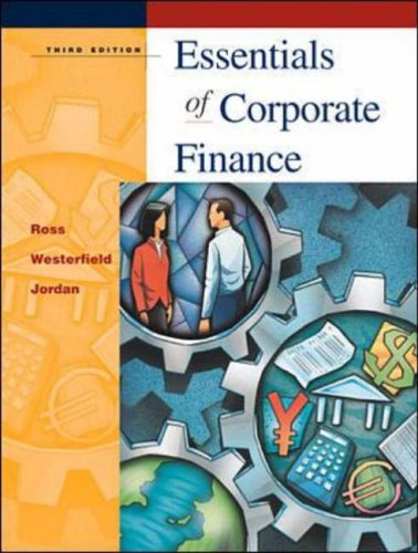 9780072340525: Essentials of Corporate Finance (Mcgraw-Hill/Irwin Series in Finance, Insurance, and Real Estate)