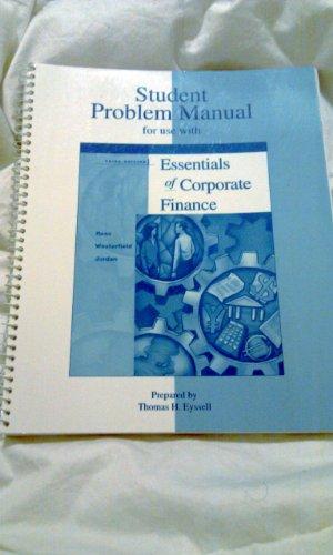 9780072340556: Essential Corporate Finance