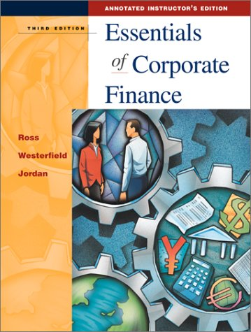9780072340631: Essentials of Corporate Finance