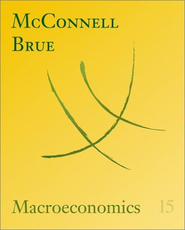 9780072340891: Macroeconomics, 15th edition