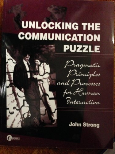 9780072342086: Unlocking the Communication Puzzle