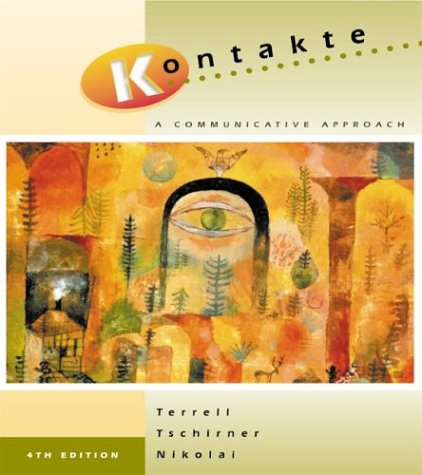 9780072342178: Kontakte:  A Communicative Approach  (Student Edition + Listening Comprehension Audio CD)