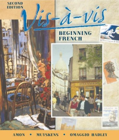 9780072342239: Vis-a-vis: Beginning French (Student Edition + Listening Comprehension Audio Cassette)