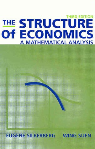 9780072343526: The Structure of Economics:  A Mathematical Analysis