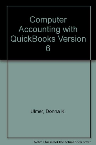 9780072343977: Computer Accounting With Quickbooks Pro '99