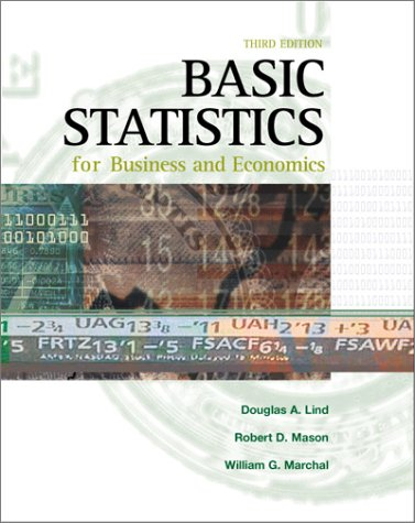 9780072344028: Basic Statistics for Business and Economics
