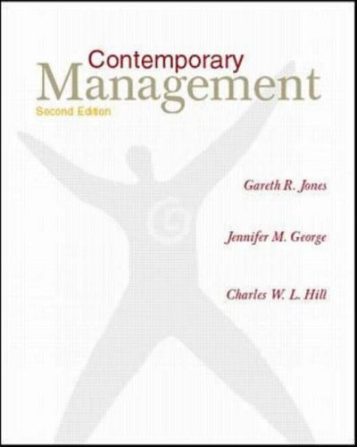 gareth jones jennifer george In the new ninth edition of contemporary management by jones/george continues to provide students the most current and up-to-date account of the changes taking place in the world of business management.