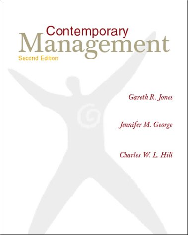 9780072346312: Contemporary Management