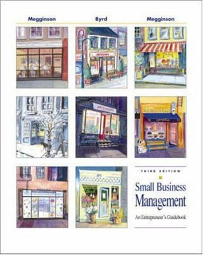9780072346527: Small Business Management : An Entrepreneur's Guidebook, 3rd