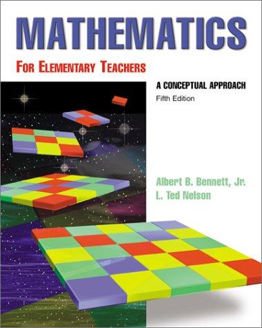 9780072346817: Math for Elementary Teachers: A Conceptual Approach