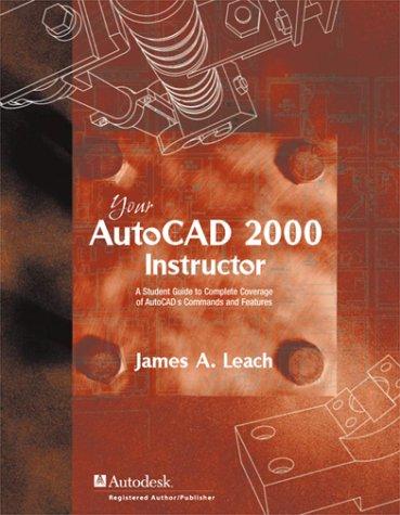 9780072347616: AutoCAD 2000 Instructor