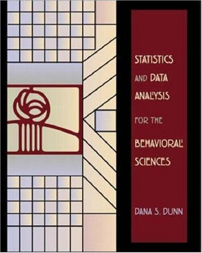 9780072347647: Statistics and Data Analysis For Behavioral Sciences