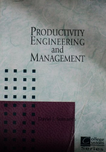 9780072347920: Productivity Engineering